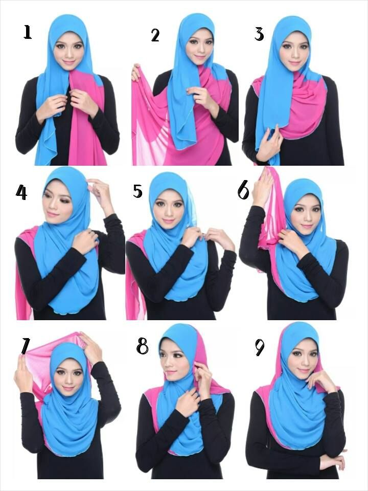 hijab wrapping