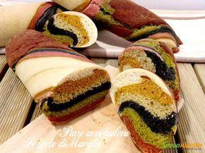 Pane arcobaleno di Sara Papa  #ricette #food #recipes