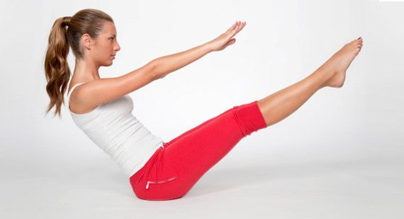 Best Yoga Exercises For Reducing Belly Fat | Naukasana