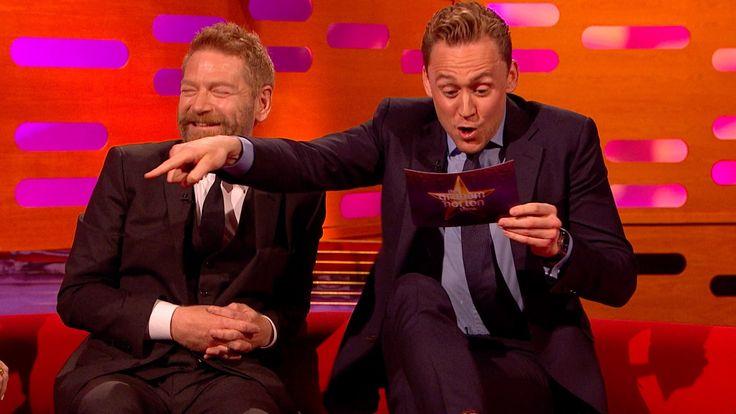 Tom Hiddleston's Graham Norton impression - The Graham Norton Show: Epis...