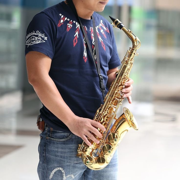 ammoon bE Alto Saxphone Brass Lacquered Gold E Flat Sax 802 Key Sale Online Shopping i1163-2 - Tomtop.com