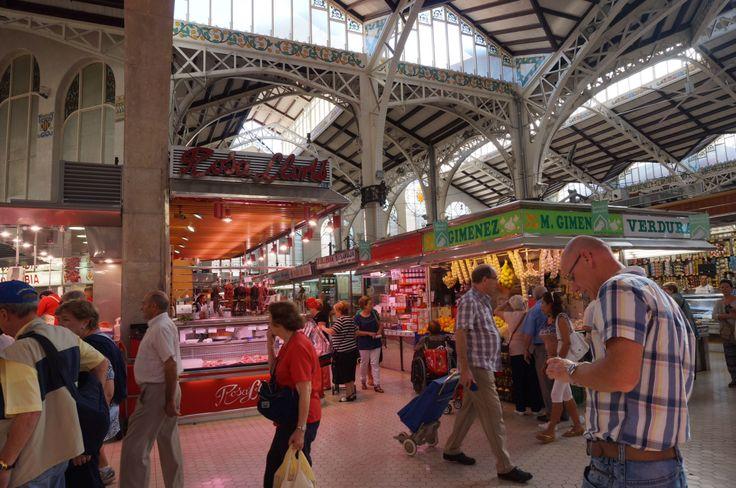 Market place Valencia.