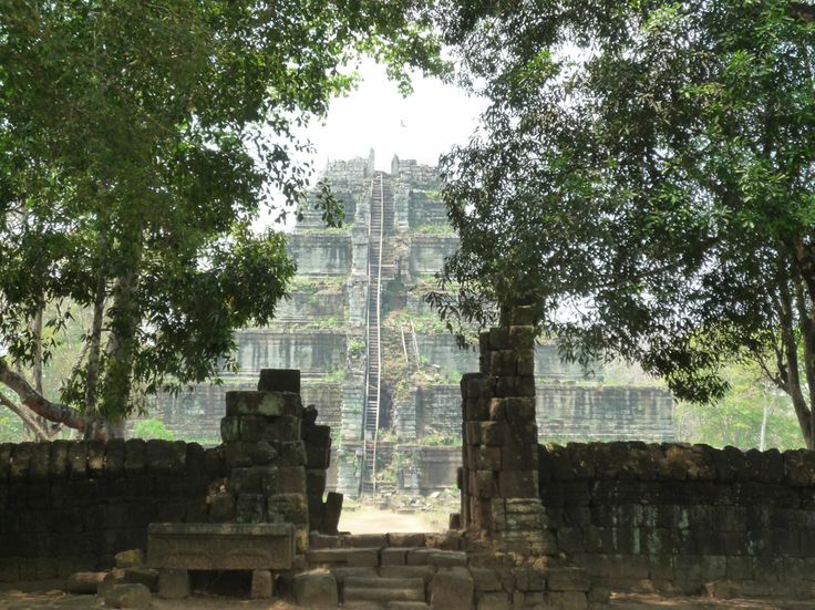 Koh Ker Temple, Cambodia by Pascal Le Disqué