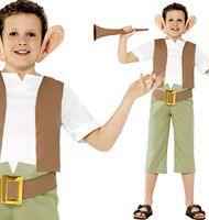 Transform your child into Roald Dahl's BFG with this fantastic fancy dress costume for kids.