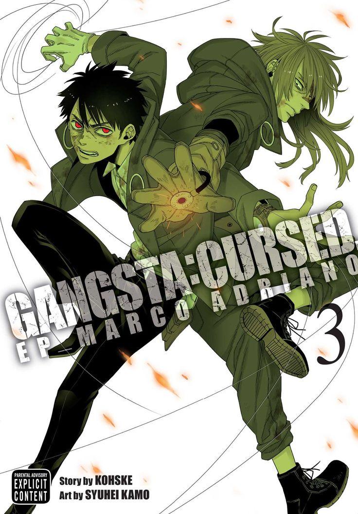 Gangsta Cursed., Vol. 3 Gangsta anime, Art story, Guy names