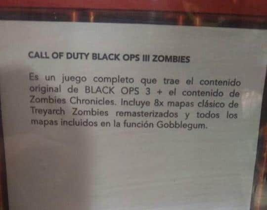 Rumor: New 'Zombies Chronicles' DLC coming to Black Ops 3 with 8 remastered Zombies maps #Playstation4 #PS4 #Sony #videogames #playstation #gamer #games #gaming