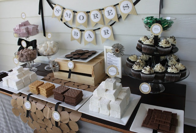 Mirabelle Creations: S'mores Bar