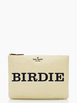 daytripper birdie gia - this is adorable. Birdie on one side, Bogie on the other! lol