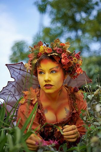 Bristol Renaissance Faire 2012 Weekend 9 Sunday. Autumn Fairy.