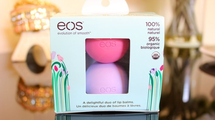 eos lip balms.♡ I NEED THE PASSION FRUIT ONE RIGHT NOW