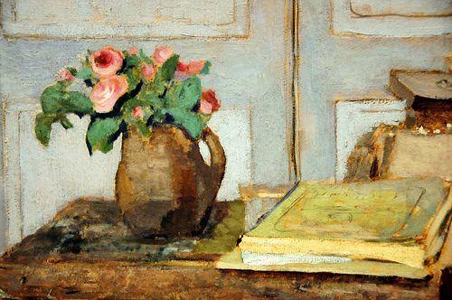 Edouard VuillardMoss Rose, Artists Painting, Life, The Artists, Édouard Vuillard, Paintbox, Art Prints, Edouard Vuillard, Painting Boxes