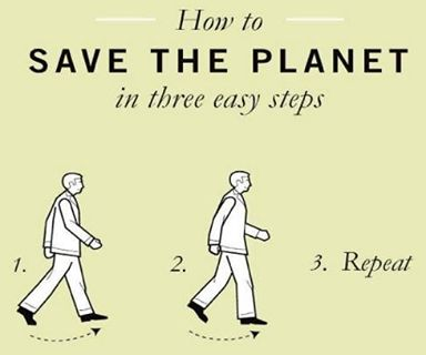 Walking is a great way to improve your health and fitness. It also benefits your community because you reduce greenhouse gas emissions, air and noise pollution and traffic congestion. http://www.livinggreener.gov.au/travel/car-alternatives/walking