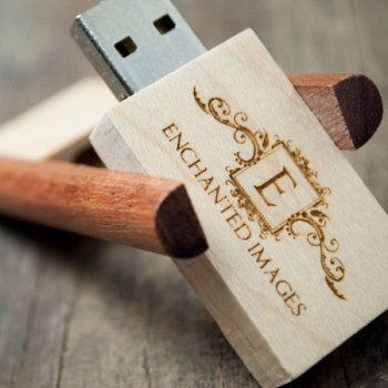 16 GB TWO TONE WOOD FLASH DRIVES ( Min. 3, 50+ Please Call ) : DaZo Packaging, your source for custom printed, eco-friendly Boxes, Bags, Tissue, and Ribbon.