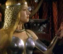 Helen Mirren as Morgana in the movie Excalibur