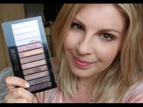 Makeup Revolution Iconic 3 Palette Tutorial | corallista - YouTube