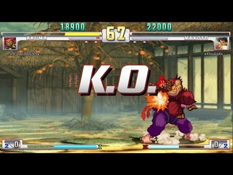 Street Fighter III 3rd Strike: Online Matches #7 (PS3) (1080p 60fps) - YouTube