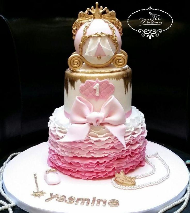 Princess carriage cake - Cake by Fées Maison (AHMADI)