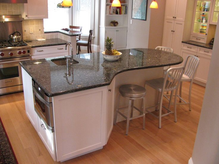 Curved Kitchen Island On Pinterest A Selection Of The