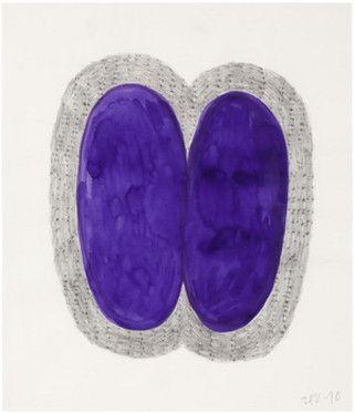 Hannu Väisänen - Strange fruit 2010. Mixed media on paper 41x35cm