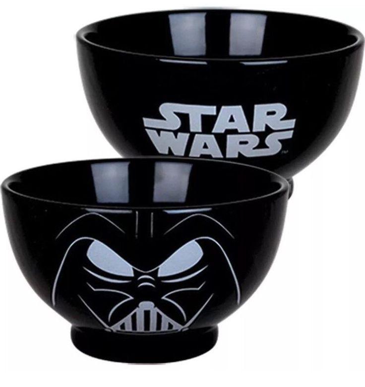 Black Darth Vader Ceramic Bowl Star Wars Novelty Cereal Dining Soup Bowl Gift  | eBay