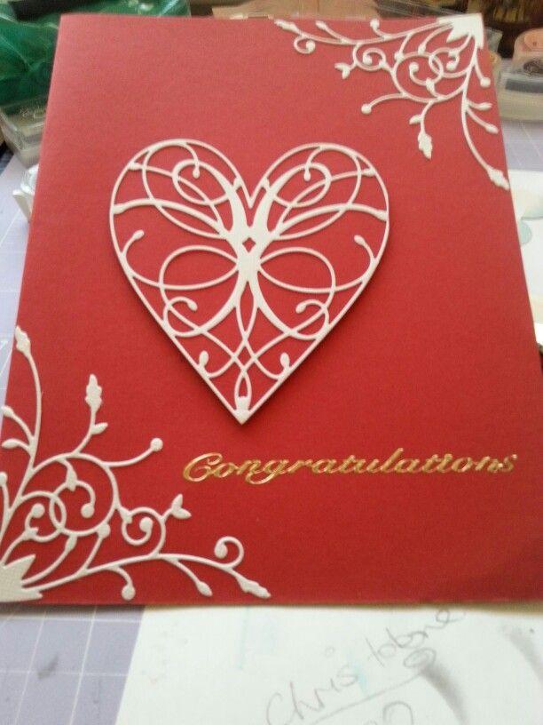 Wedding card or anniversary card
