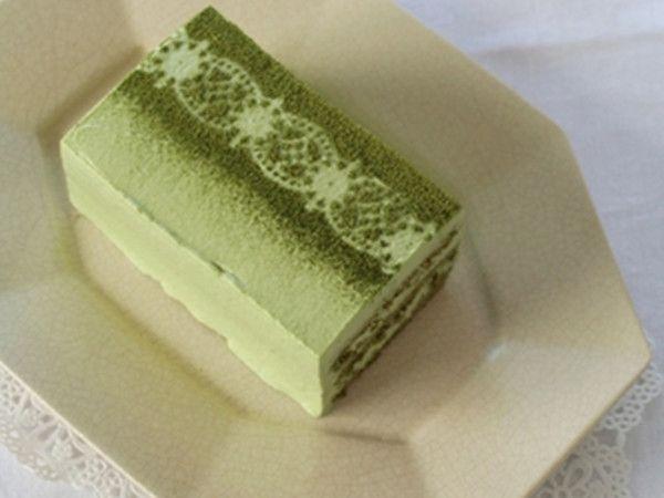 Matcha short cake