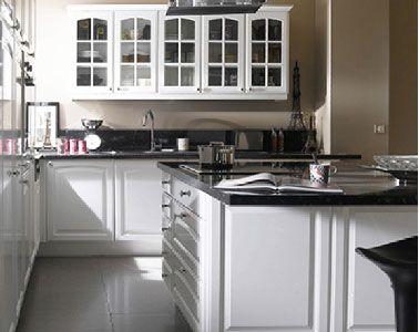Best Cuisine Blanche White Kitchen Images On Pinterest - Idee deco cuisine blanche pour idees de deco de cuisine