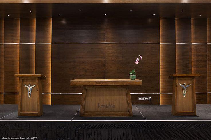 multifunction room #2 #wood #panel #ambience #lights #ledstrip #interiordesign