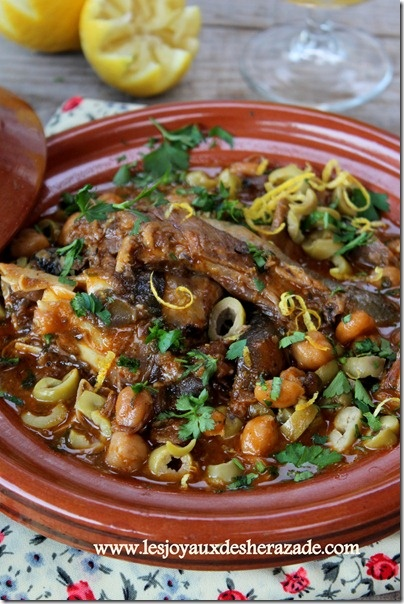Chtitha bouzelouf, tete de mouton en sauce