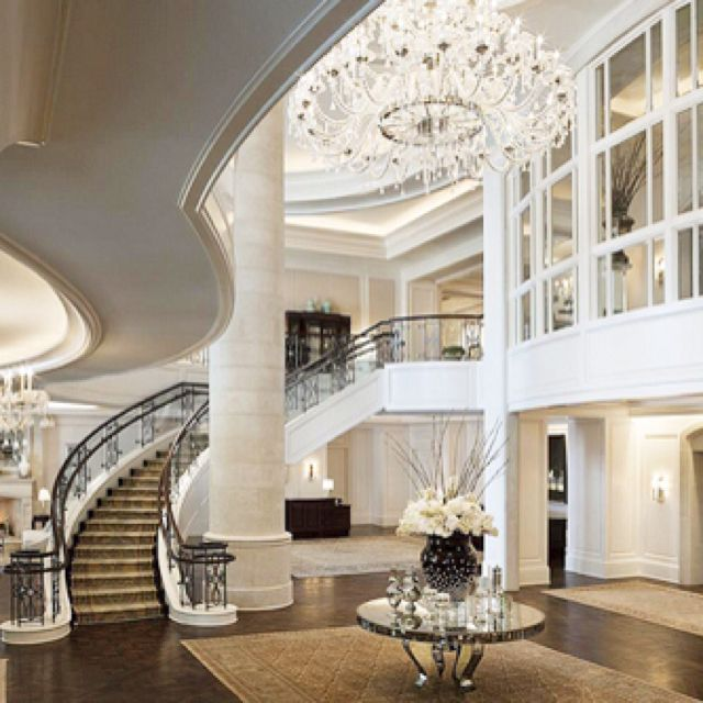 40 Luxurious Grand Foyers For Your Elegant Home: 17 Best Images About Mansions On Pinterest