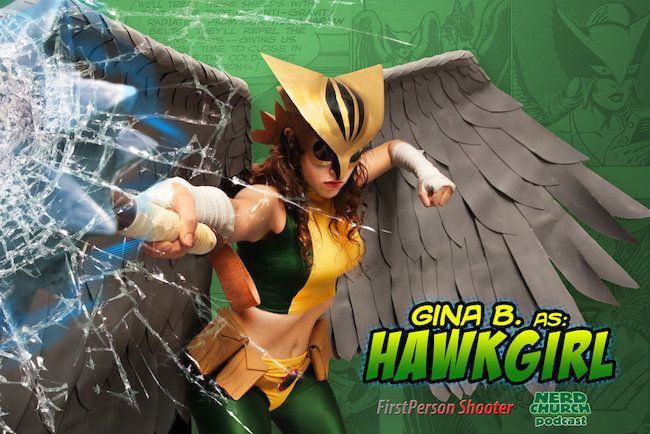 Gina B Hawkgirl Cosplay Collection
