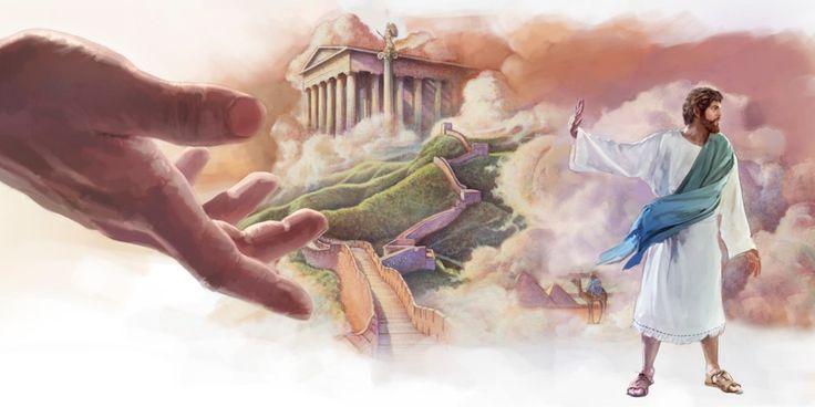 Jesus Cristo recusando os reinos do mundo que o Diabo lhe ofereceu numa tentativa de suborná-lo
