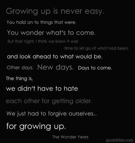 ~The Wonder Years