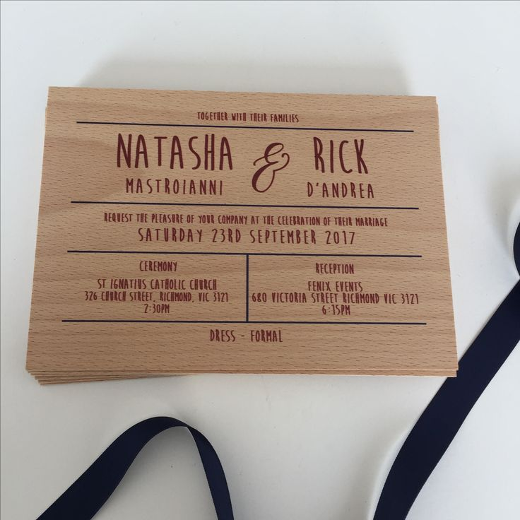 Inspired Design are pleased to announce the launch of our latest range of timber invitations. YES we actually print on wood. Pretty unique I'd say! #timberinvitations #woodeninvitations #weddinginvitations #inspireddesigninvitations #inspireddesigninvites #woodenweddinginvitations #rusticinvitations #bespokeinvitations #timberweddinginvitations #inspireddesigninvitations #weddingstyling #weddingstylingmelbourne