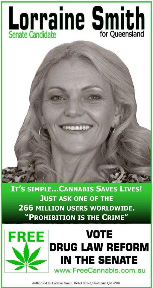 Lorraine Smith - Senate candidate Qld