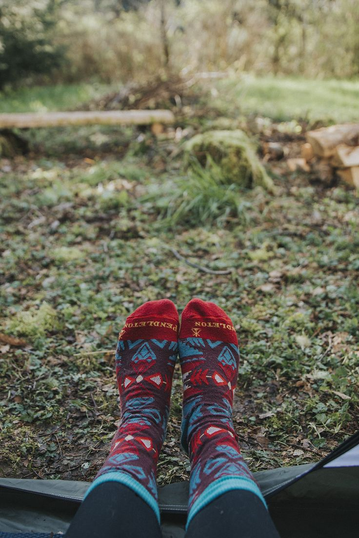 The drizzly PNW calls for wool socks! Book your stay at the Olympic Wilderness River Camp up on the Peninsula exclusively on Hipcamp.