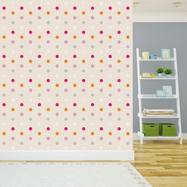 Tapeta Dots Color