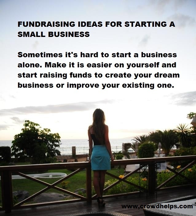 Sometimes it's hard to start a business alone. Make it is easier on yourself and start raising funds to create your dream business or improve your existing one. #crowdfunding #women www.crowdhelps.com