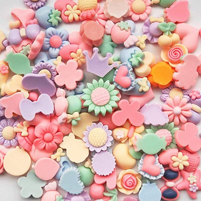 Mix Lots Rose Flatback Button Resin Button Diy Craft Scrapbook  Embelishment
