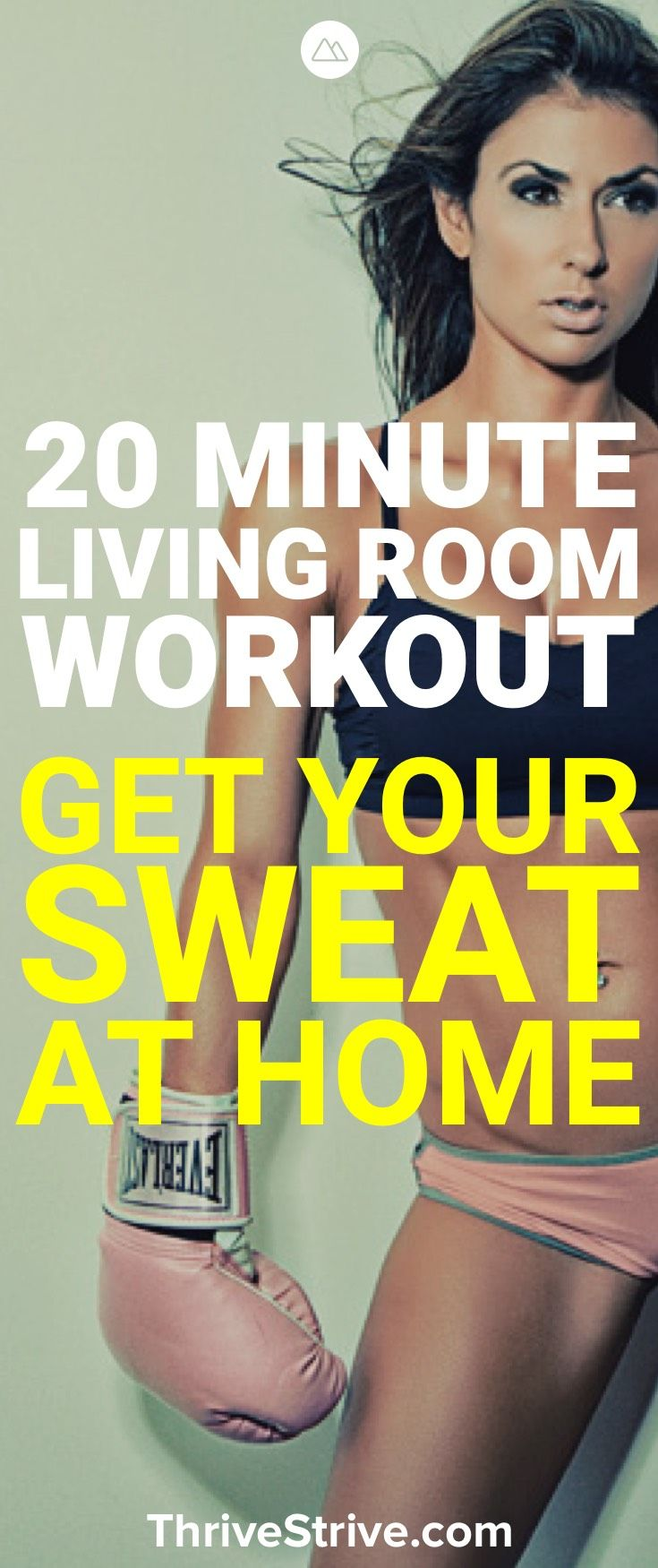 20 Minute Living Room Workout - [peenmedia.com]