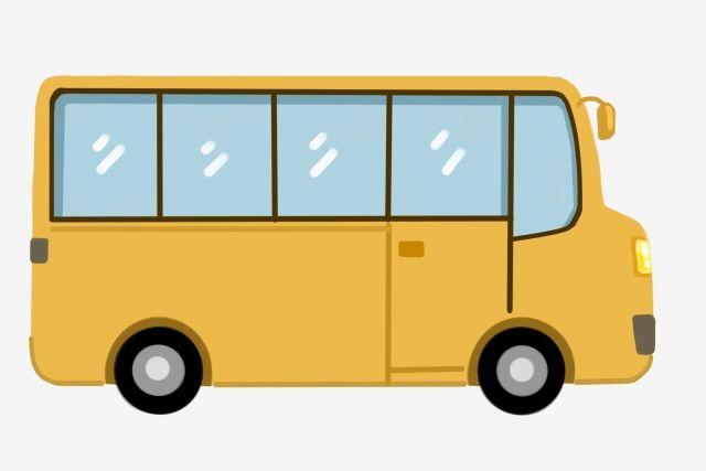 Toon Van Transportation School Bus Shuttle Bus Lovely School Bus