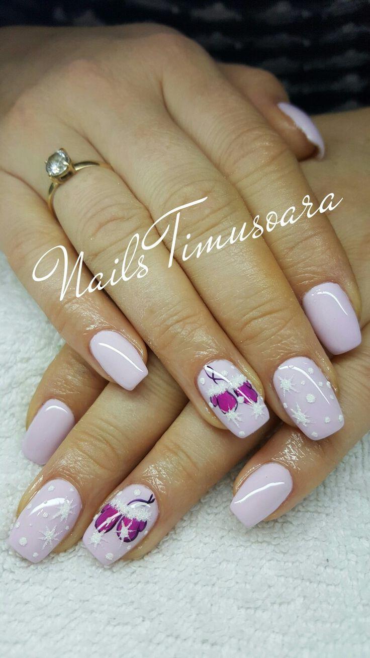 #nails #winter #christmas