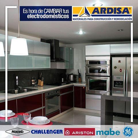 Tenemos los mejores precios y las mejores marcas HACEB - CHALLENGER - ARISTON - MABE - GENERAL ELECTRIC #Descuentos #Hogar #ARDISA
