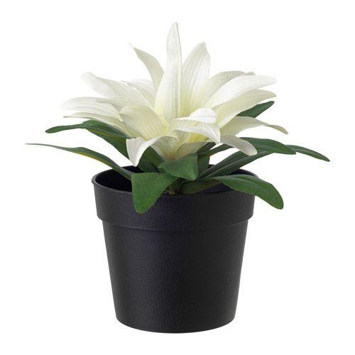 FEJKA Planta artificial em vaso IKEA Esta planta artificial conserva o seu aspeto real ano após ano.