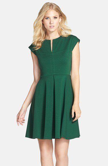 Kleid grun festlich