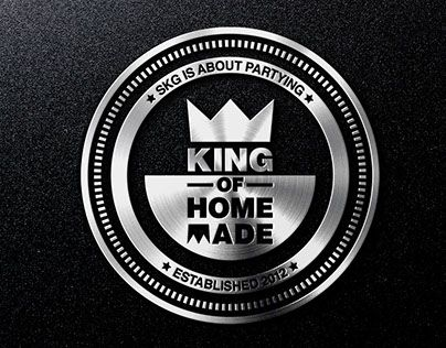 """Check out new work on my @Behance portfolio: """"KING OF HOMEMADE"""" http://be.net/gallery/40272509/KING-OF-HOMEMADE"""