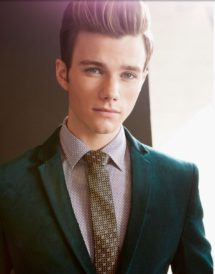 Chris Colfer as openly gay Kurt Hummel in Glee (2009-present)