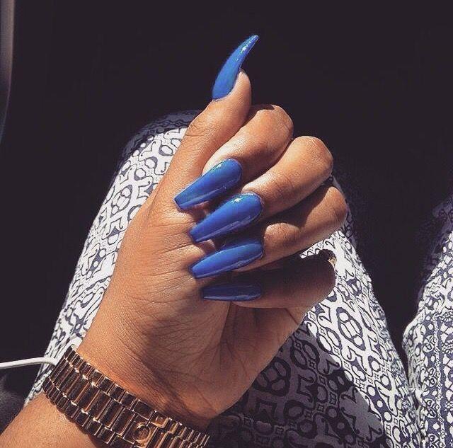 Best 25+ Long Acrylic Nails Ideas On Pinterest
