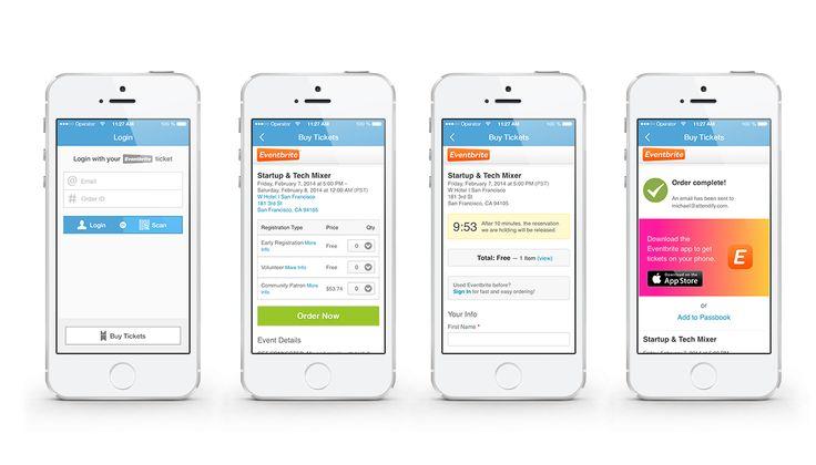 eventbrite settings mobile - Google Search