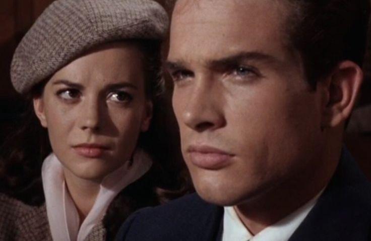 "Natalie Wood and Warren Beatty in ""Splendor In The Grass"" (1961, Elia Kazan) / Cinematography by Boris Kaufman"